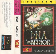 D.N.A Warrior - Box Art - Speccy