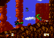 Daffy Duck in Hollywood Mega Drive ingam