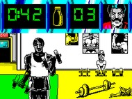 Daley Thompson Challenge Game - Spectrum Screenshot