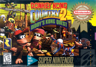 Donkey Kong Country 2 SNES Box