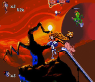 Earthworm Jim 2 Genesis ingame Screenshot