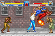 Final Fight One GBA ingame Screenshot