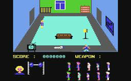 Friday the 13th c64 Ingame Screenshot