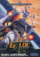 G-LOC: Air Battle Mega Drive cover