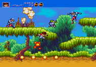 Gunstar Heroes Genesis ingame Screenshot