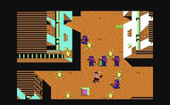 Ikari Warriors c64 Ingame