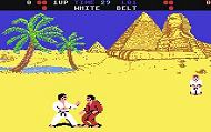 International Karate c64 Ingame