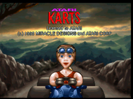 Atari Karts - Title Screen