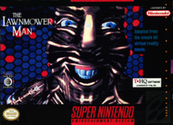 Lawnmowerman SNES Box