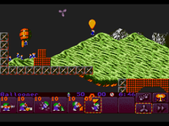 Lemmings 2 - The Tribes MegaDrive ingame