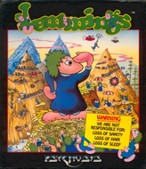 Lemmings (Amiga) Screenshot