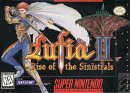 Lufia II SNES Box Screenshot