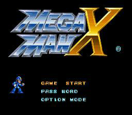 Mega Man X: Title Screen (SNES)