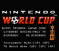 Nintendo World Cup Title Screen