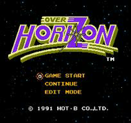 Over Horizon NES Title Screen