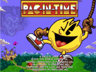 Pac-in-Time - PC Title Screen Screenshot