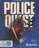Police Quest 3 - Cover art (DOS version) Screenshot