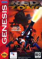 Red Zone (Genesis) Screenshot
