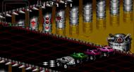 Rock n' Roll Racing Mega Drive ingame