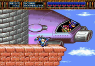 Rocket Knight Adventures Mega Drive  Screenshot
