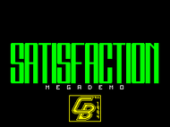 Satisfaction Megademo - Title
