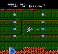 Section-Z NES Ingame