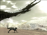 Shadow of the Colossus - Phalanx flying