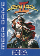 Shining Force II Mega Drive cover