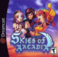 Skies of Arcadia DC Box Screen