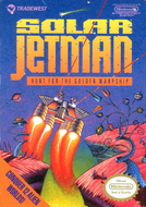 Solar Jetman NES cover Screenshot