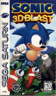 Sonic 3D Blast Saturn box cover US Screenshot