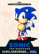 Sonic the Hedgehog Mega Drive cover Screenshot
