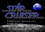 Star Cruiser Mega Drive Titlescreen