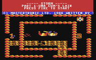 Storm C64 ingame Screenshot