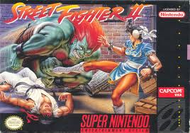 Street Fighter II SNES Box