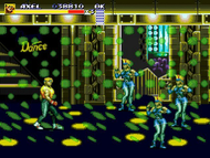 Streets of Rage 3 Mega Drive ingame Screenshot