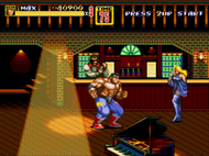 Streets of Rage II Mega Drive ingame Screenshot