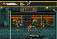 Streets of Rage Mega Drive ingame Screenshot