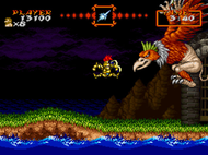 Super Ghouls n Ghosts SNES Ingame2