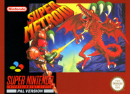 Super Metroid SNES Box Screenshot