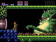 Super Metroid SNES Ingame