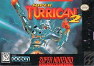 Super Turrican 2 (SNES) Screenshot
