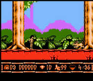 The Jungle Book Nes ingame