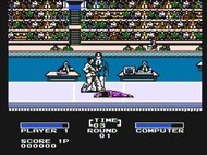 Track and Field II NES Ingame 1