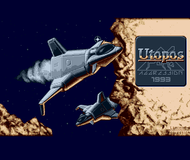 Utopos - Title Screen