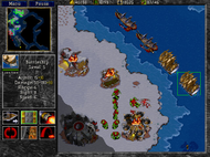 Warcraft II ingame 2 Screenshot