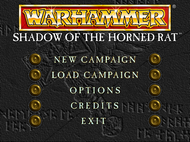 Warhammer SothR PC Menu