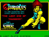 Thundercats (ZX Spectrum) - Loading pic