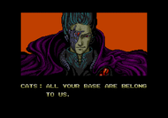 Zero Wing Mega Drive intro Screenshot