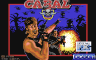 Cabal - Loading Screen - C64